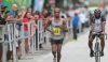 Curtis Cox heads to the finish-line. He was the first T&T runner to finish in a time of 2:53:43 out at the Queen's Park Savannah, Port-of-Spain, yesterday.