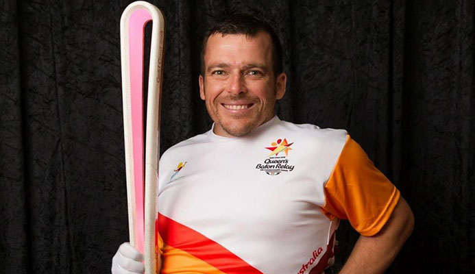 Paralympic champion Kurt Fearnley will deliver the Queen's Baton for Gold Coast 2018 to Buckingham Palace ©Gold Coast 2018