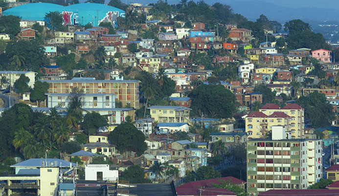 A view of a section of Laventille