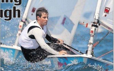 Lewis mastering himself through sailing