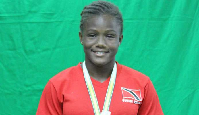 TT's Amari Ash was recently crowned the 2019 Central American and Caribbean Amateur Confederation (CCCAN) Championships 11-12 50-metre freestyle gold medallist.