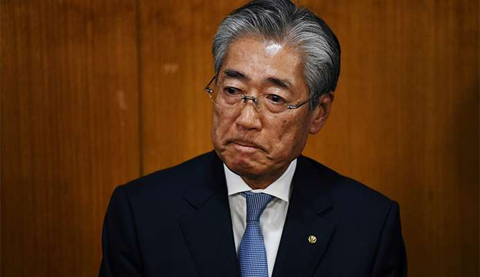 Tsunekazu Takeda has resigned following bribery allegations linked to the successful bid from Tokyo 2020 ©Getty Images